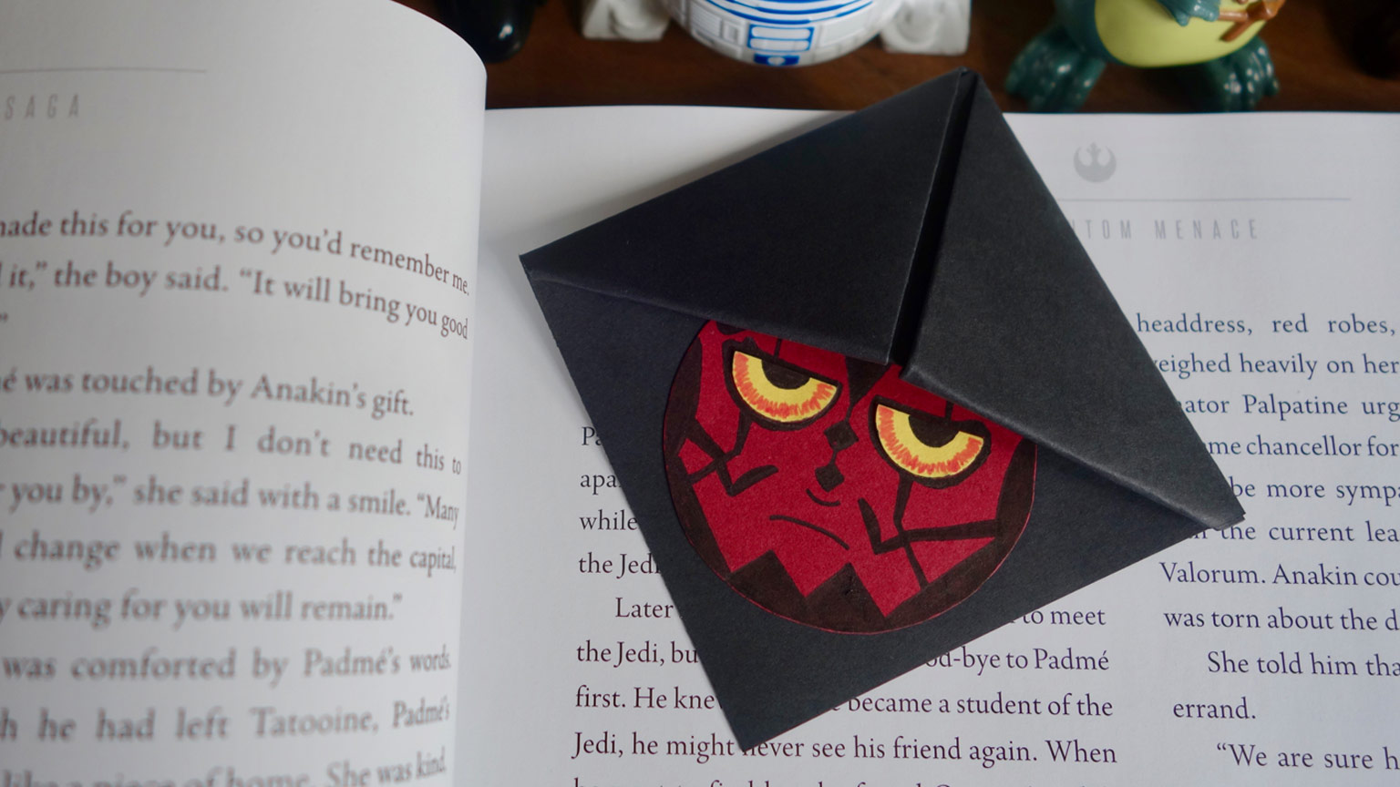 Darth Maul bookmark