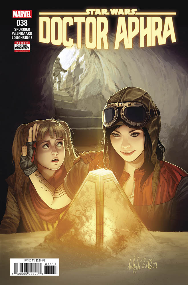The cover of Doctor Aphra issue #38.
