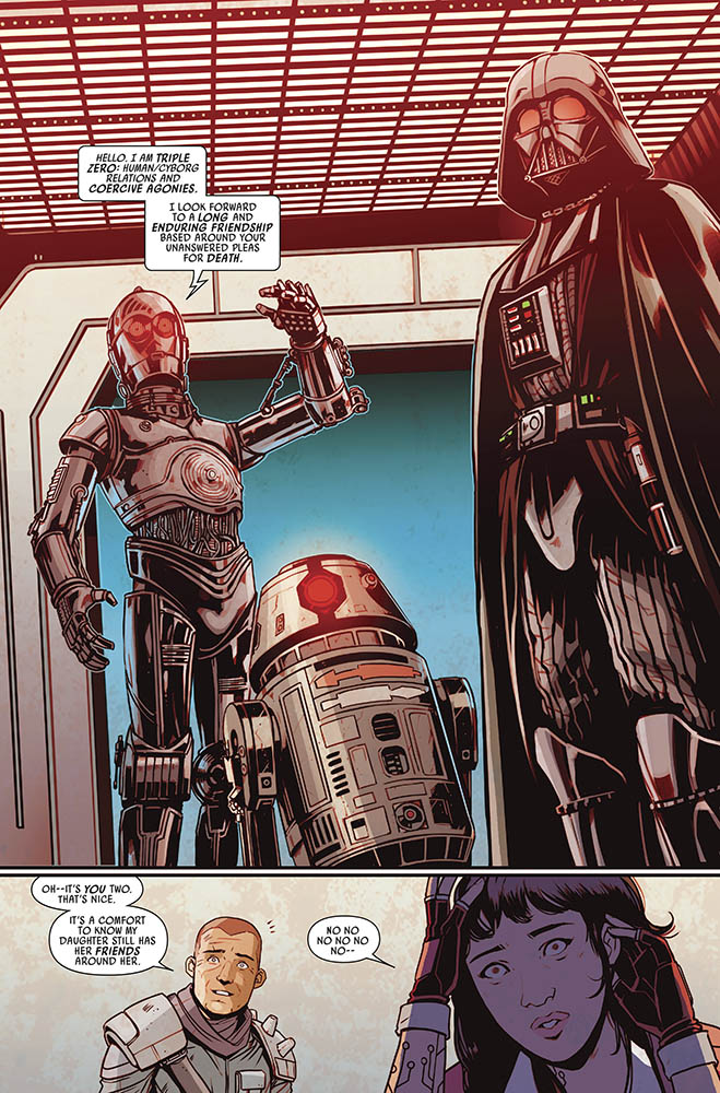 A page from Doctor Aphra issue #38.