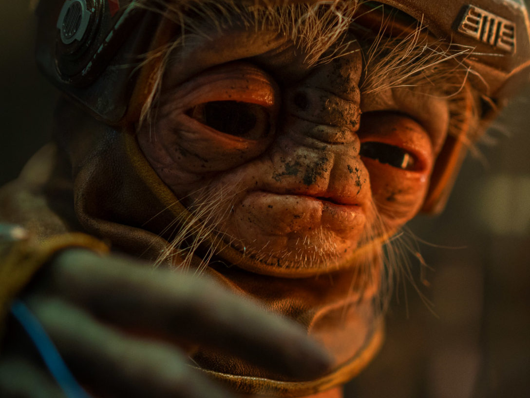 Babu Frik in Star Wars: The Rise of Skywalker.