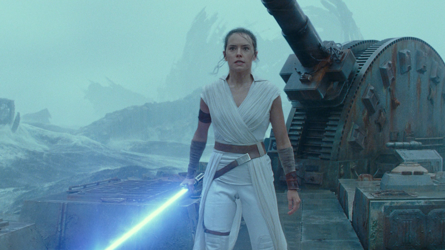 Rey in Star Wars: The Rise of Skywalker