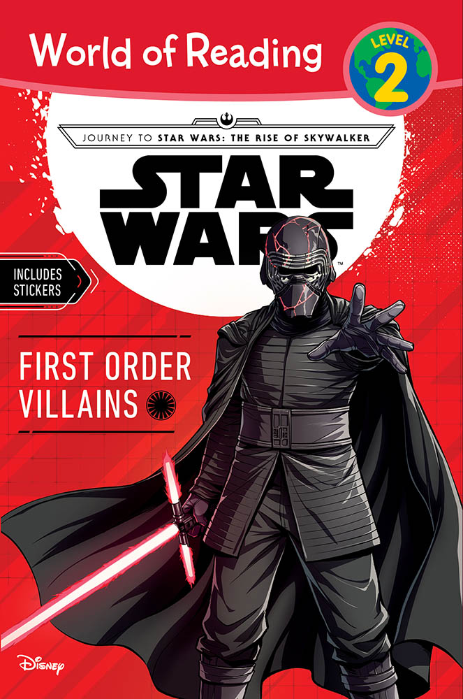 The cover of First Order Villains.