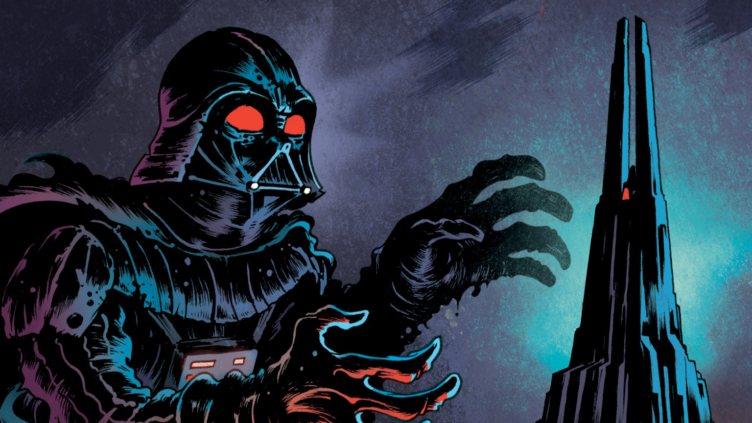 Darth Vader in IDW's Return to Vader's Castle #5