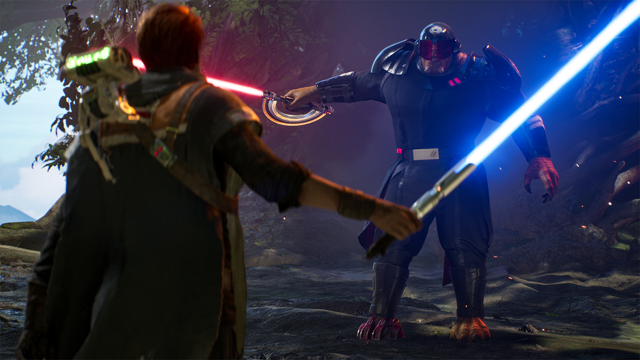 A scene from Star Wars Jedi: Fallen Order.