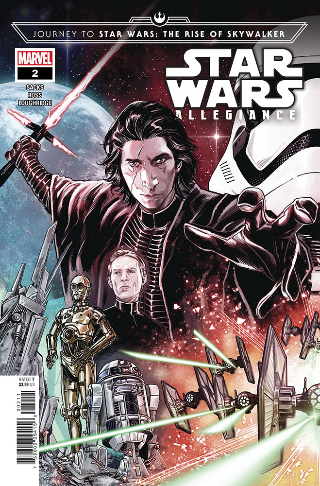 The cover of Journey to Star Wars: The Rise of Skywalker - Allegiance #2.