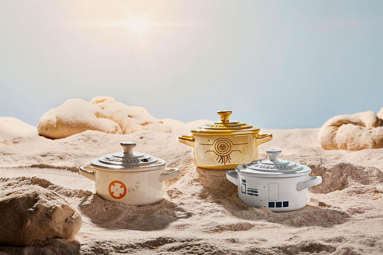 Mini cocottes from the Star Wars Le Creuset line.