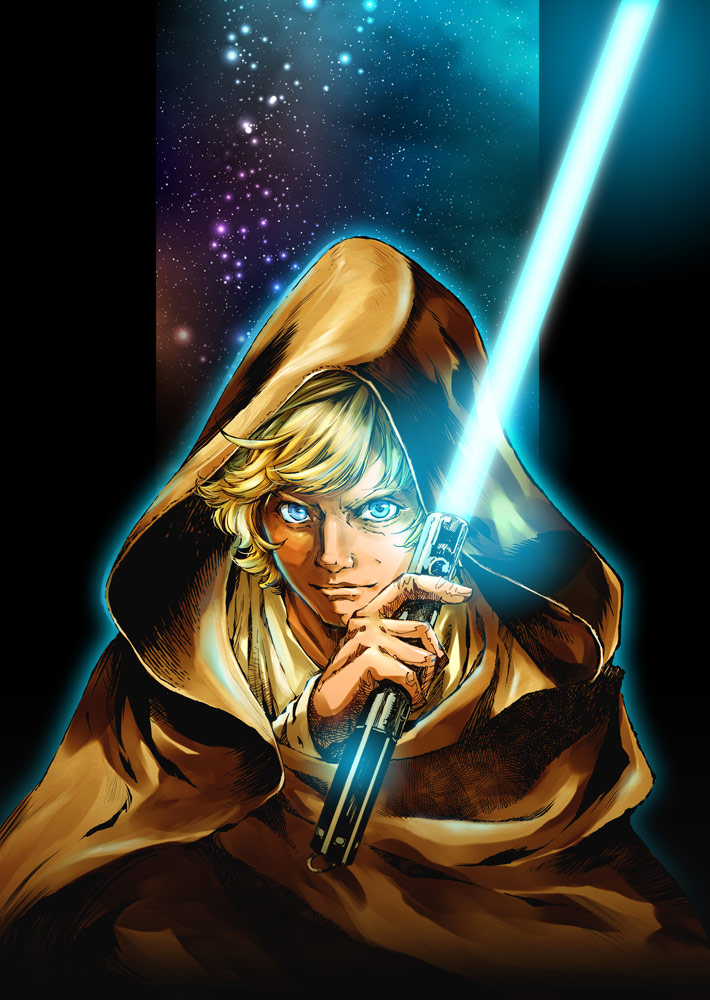 Legends of Luke Skywalker: The Manga cover