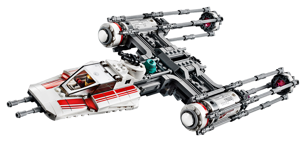 New LEGO Y-wing from The Rise of Skywalker.