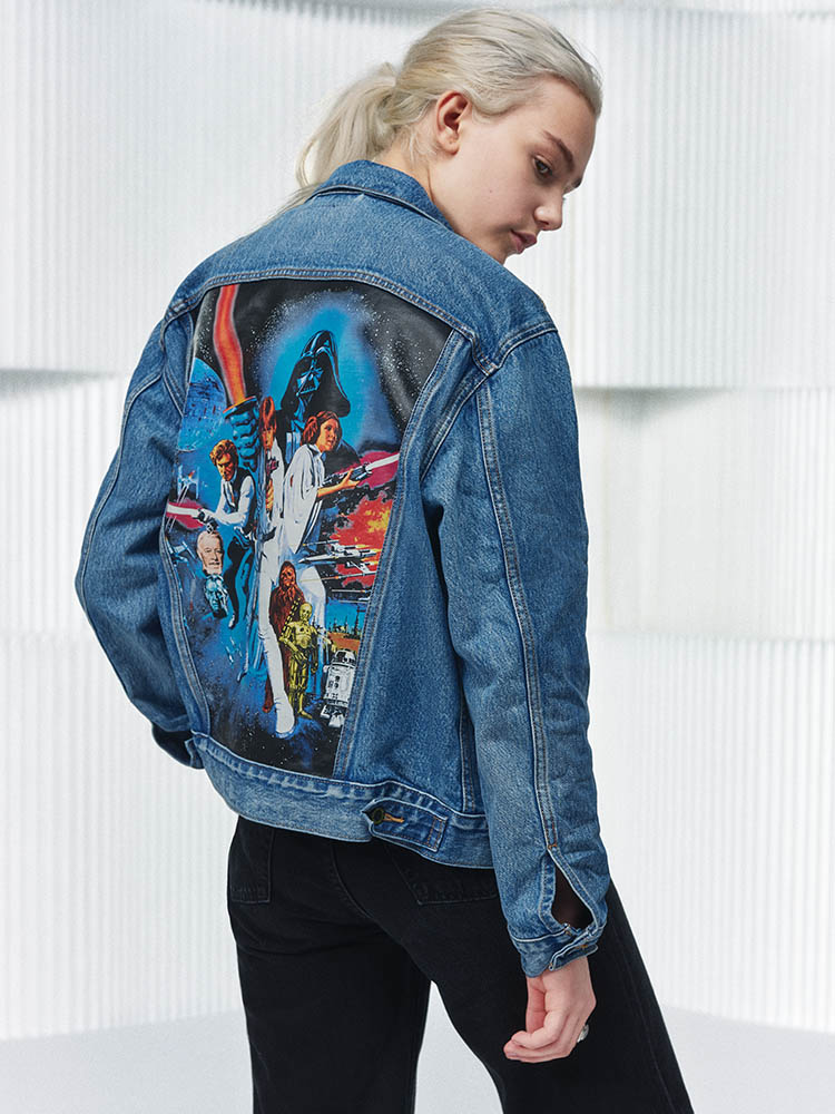 A jacket from Lexi's x Star Wars
