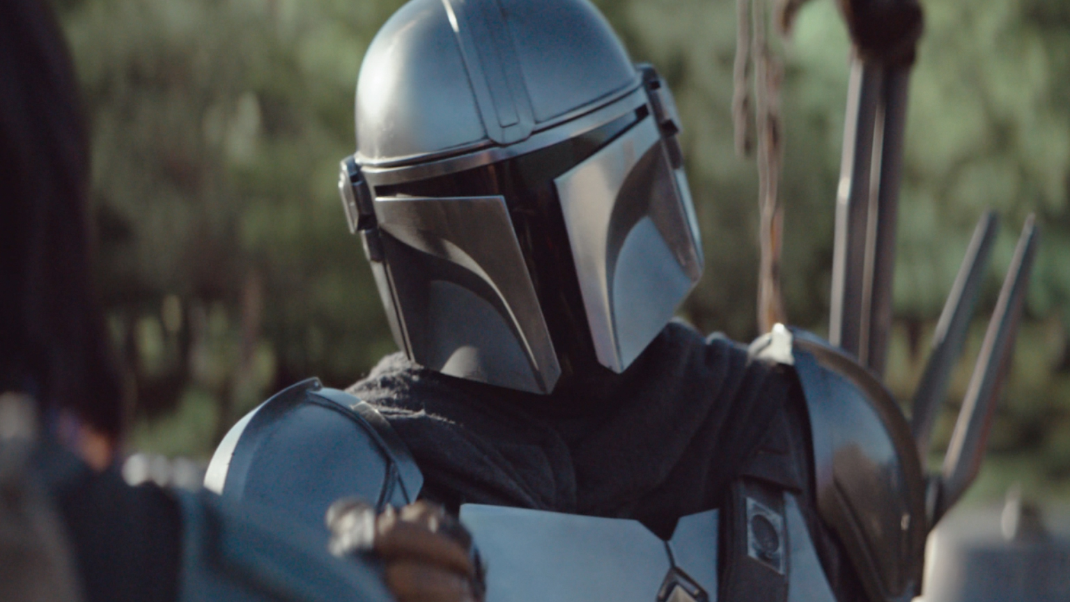 The Mandalorian in the final trailer for the Disney+ series.