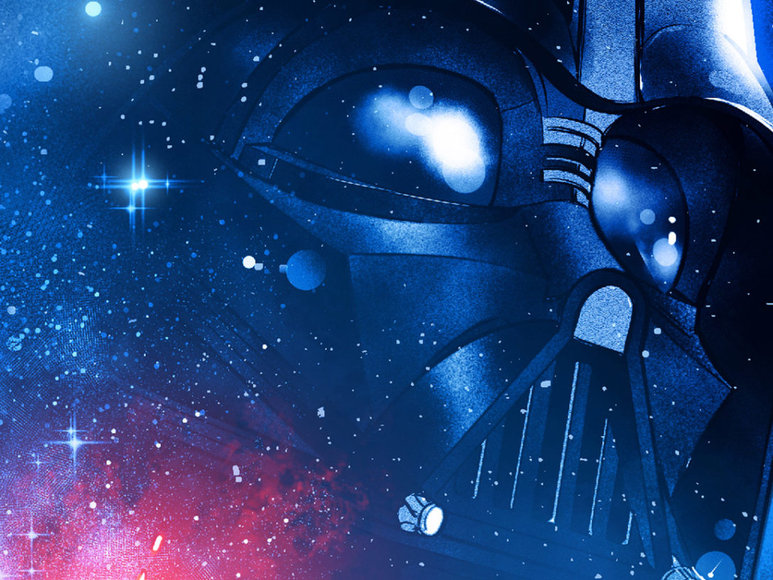 Darth Vader on the cover of the new Marvel Star Wars.