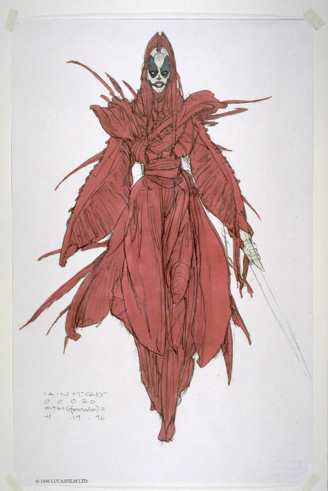 Concept art for Episode I, which would inspire Mother Talzin.