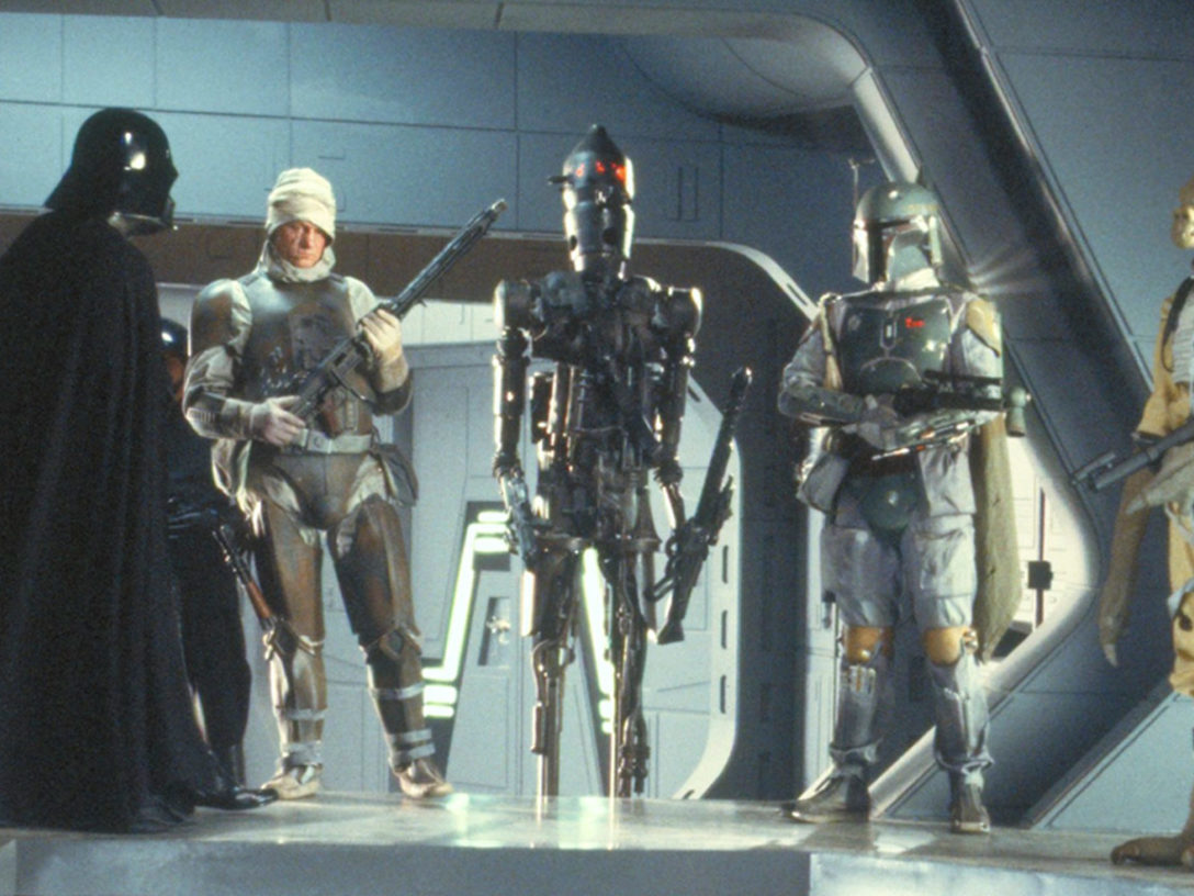 Bounty hunters in The Empire Strikes Back