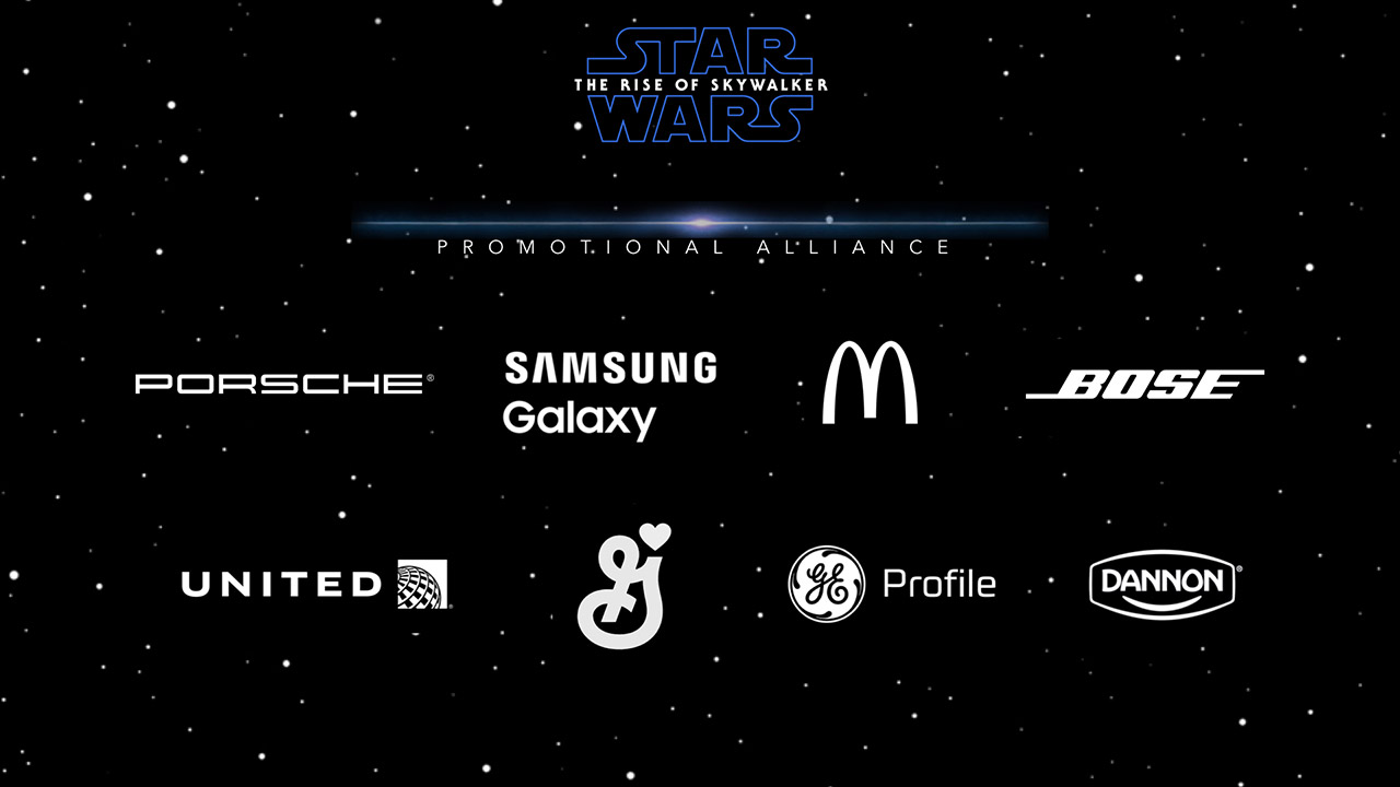 Brand partners in the promotional alliance