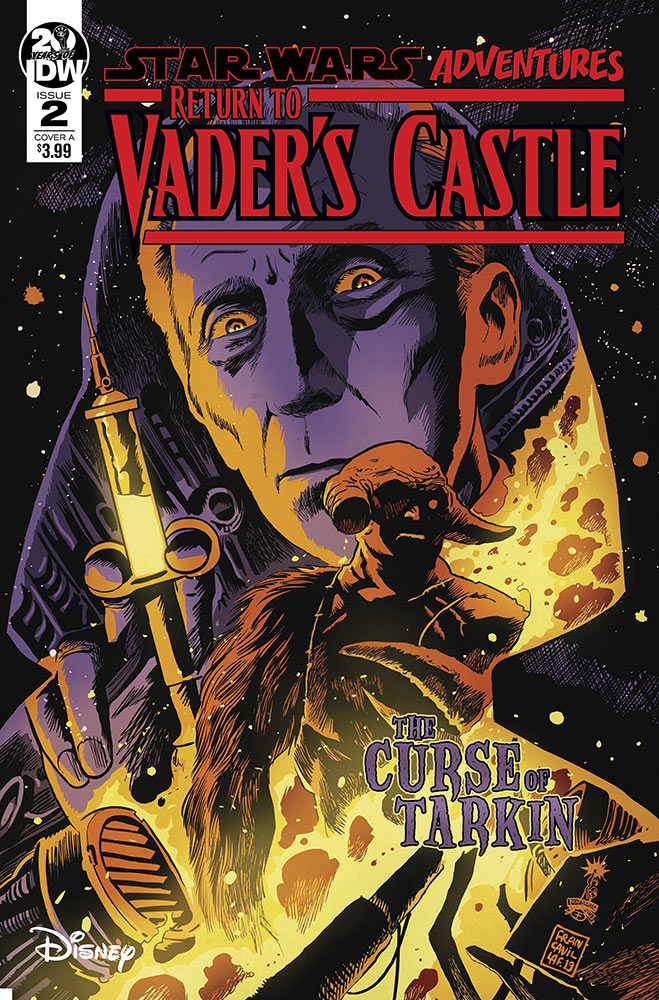The cover of Return to Vader's Castle issue #2.