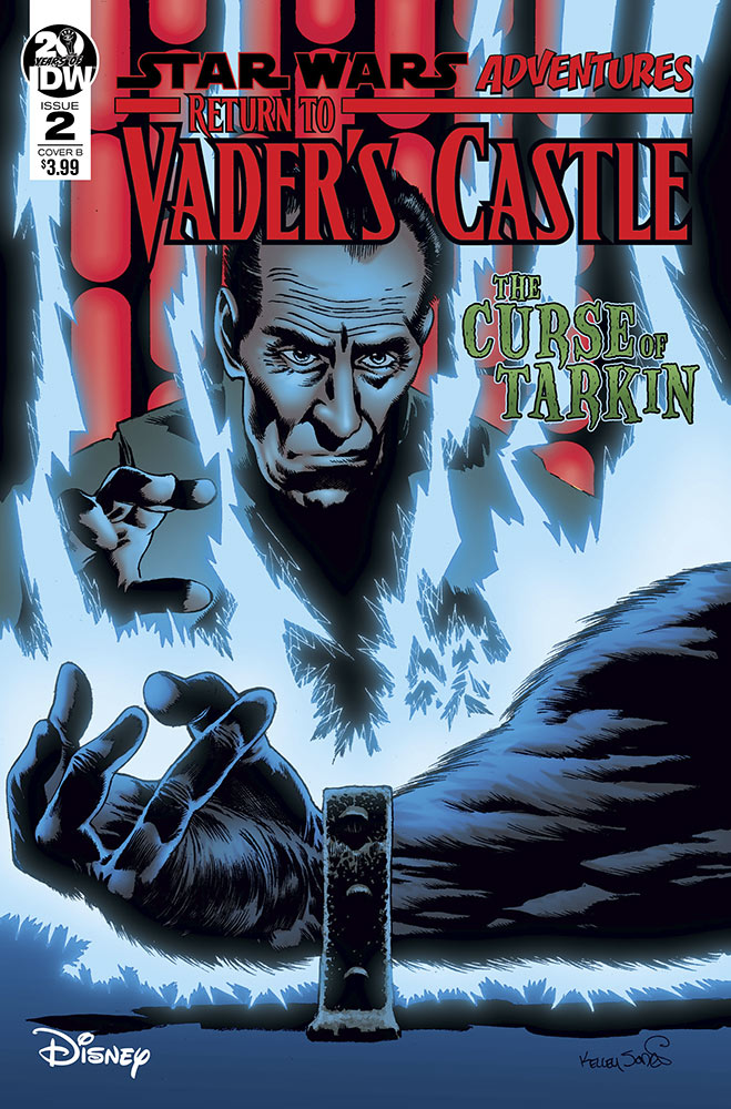 A variant cover of Return to Vader's Castle issue #2.