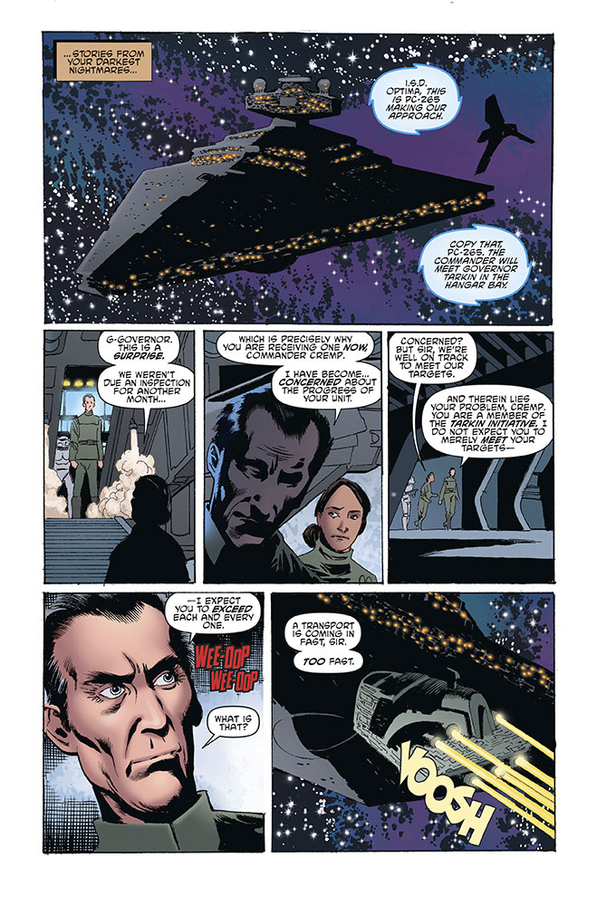 A page from Return to Vader's Castle issue #2.