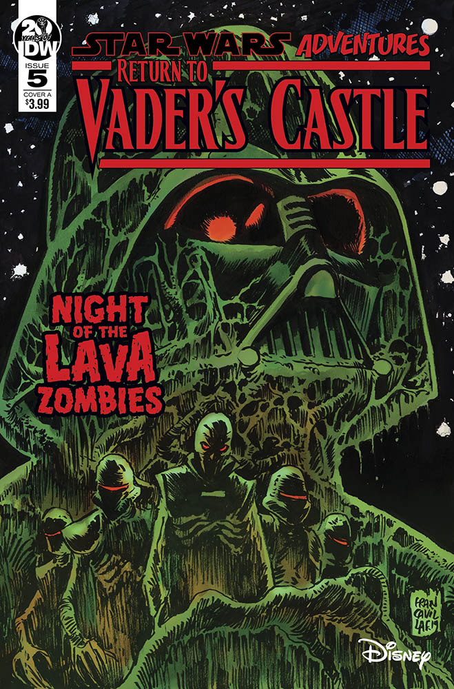 The cover of IDW's Return to Vader's Castle #5