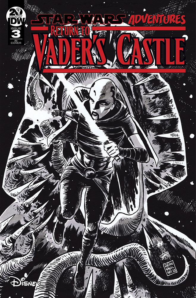 Cover art from Return to Vader's Castle issue #3.