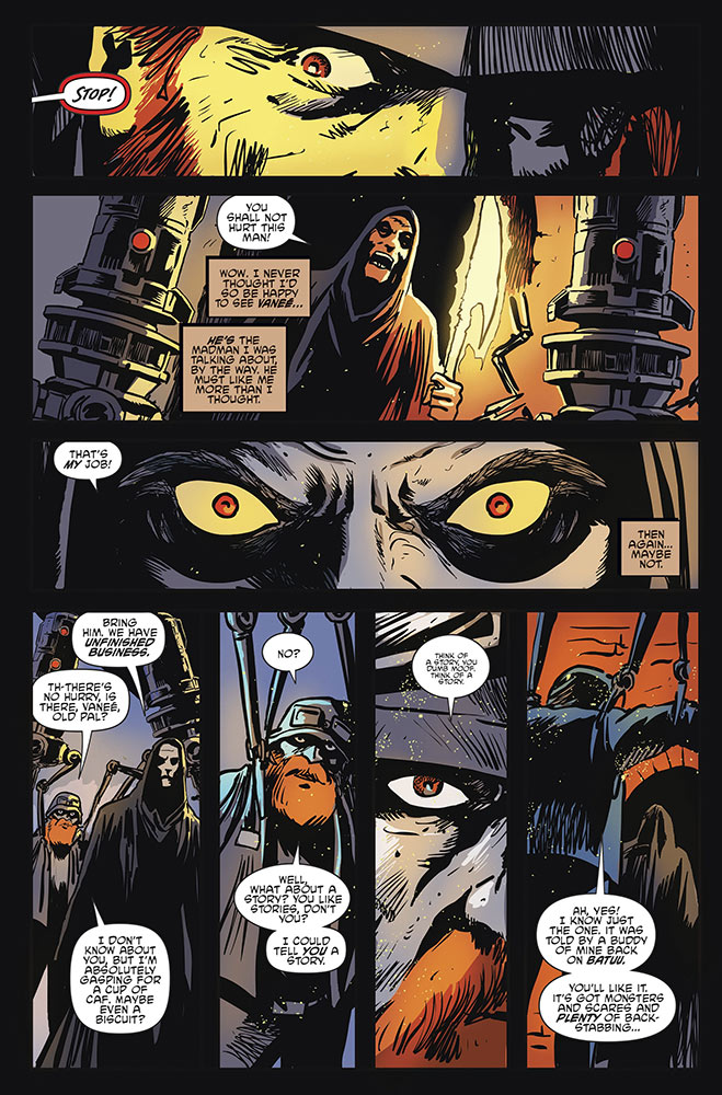A page from Return to Vader's Castle issue #4.