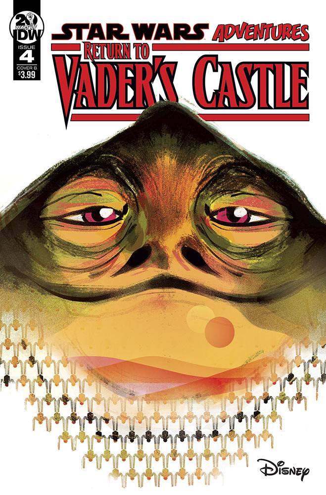 The cover of Return to Vader's Castle issue #4.