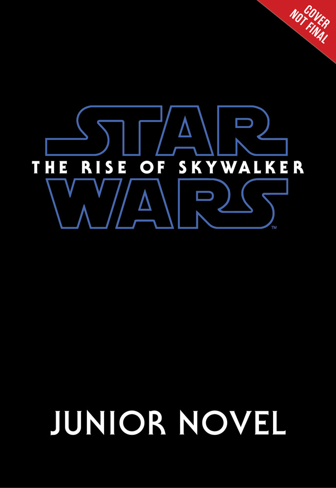 Star Wars: The Rise of Skywalker junior novelization cover