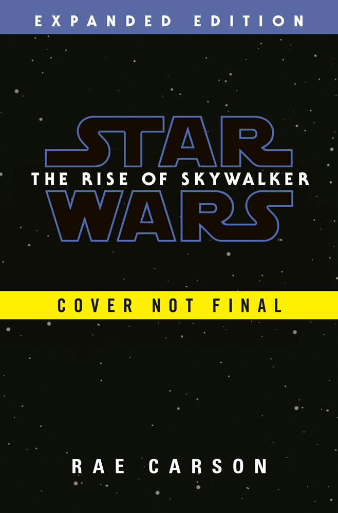 Star Wars: The Rise of Skywalker temp cover