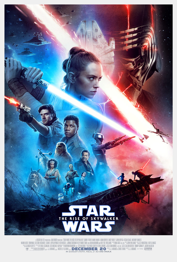 Star Wars: The Rise of Skywalker theatrical poster