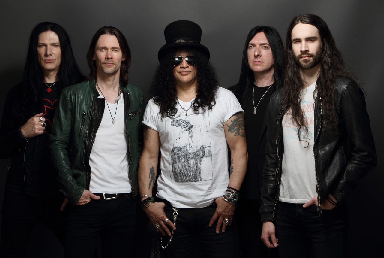Todd Kerns, Slash, and the Conspirators