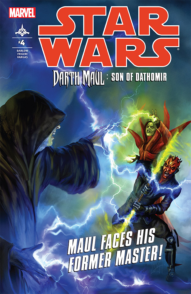 "The cover of ""Son of Dathomir"" issue 4."