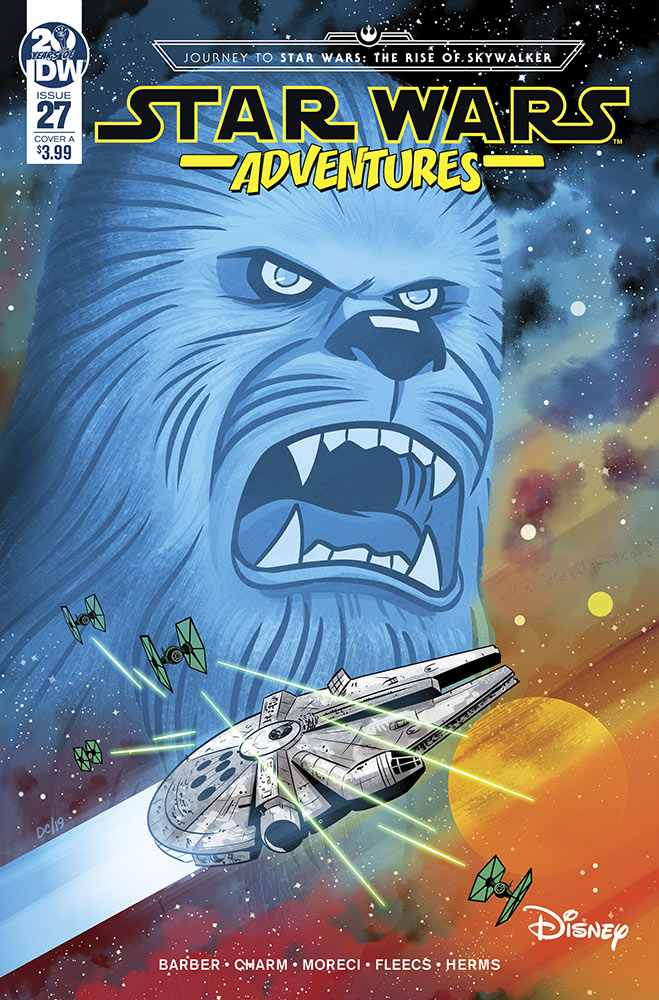 The cover of Star Wars Adventures #2