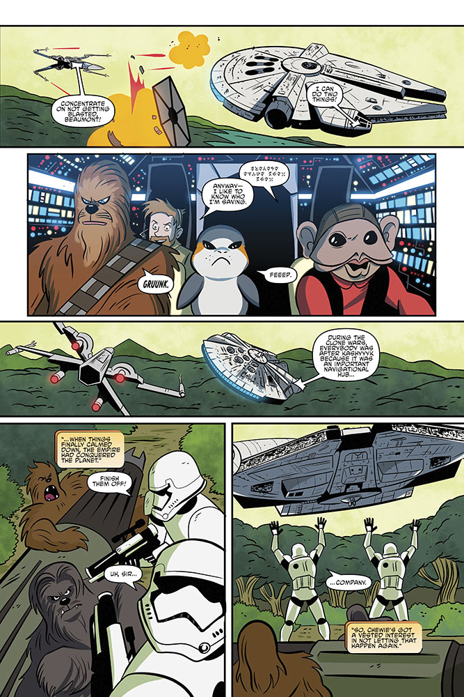 A page from Star Wars Adventures #2