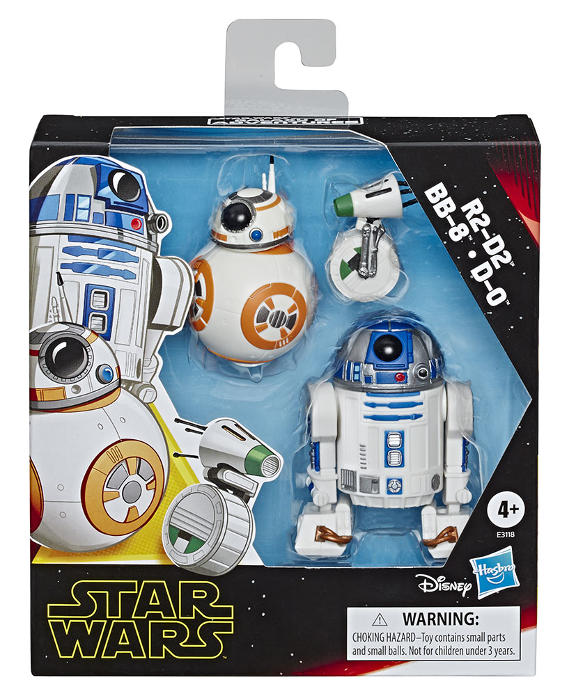 Star Wars Galaxy of Adventures R2-D2 and D-O