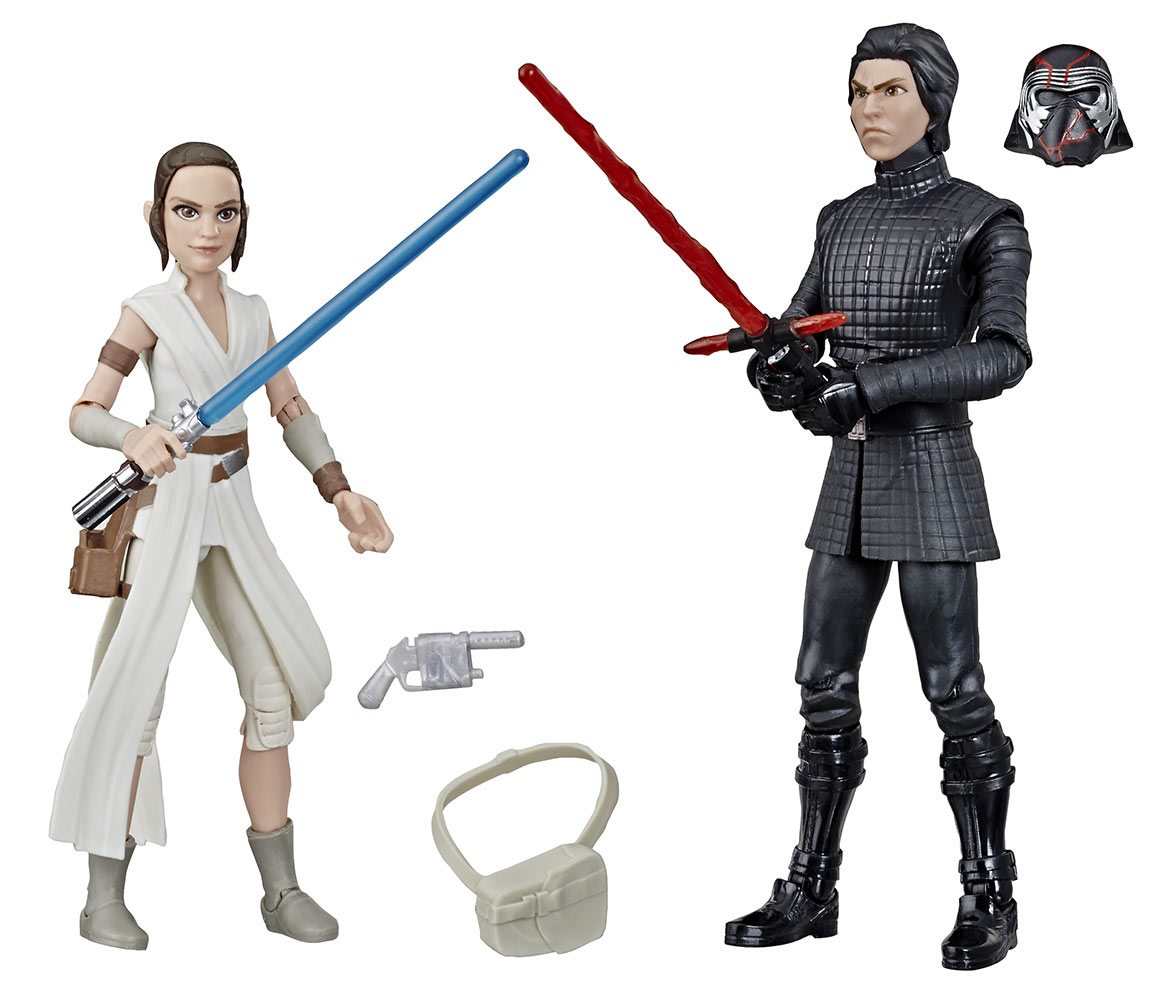 Star Wars Galaxy of Adventures Rey and Kylo