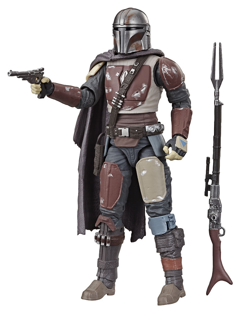 Hasbro Black Series The Mandalorian out of the box