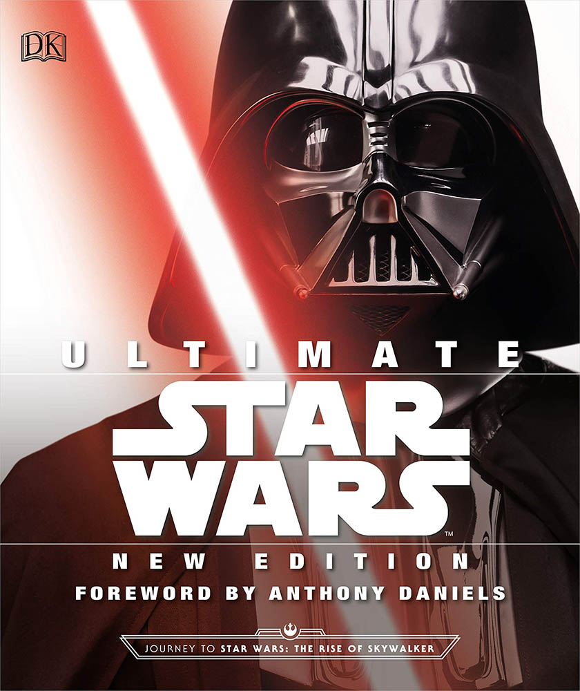The cover of Ultimate Star Wars New Edition.