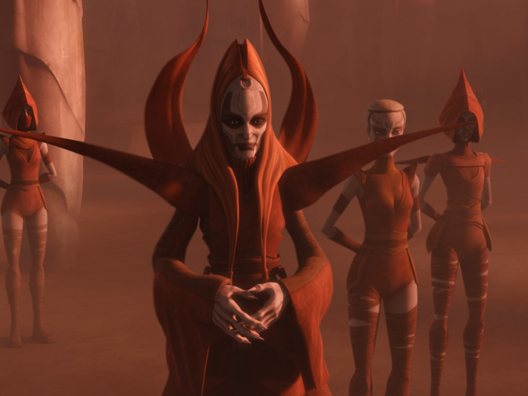 Mother Talzin in Star Wars: The Clone Wars.