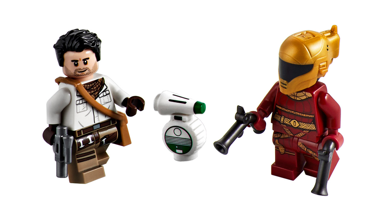 New LEGO minifigures from The Rise of Skywalker.