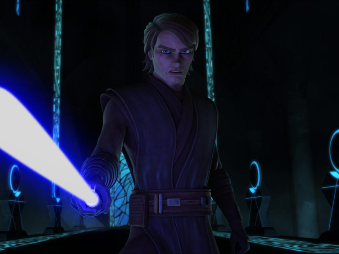 Anakin in The Clone Wars