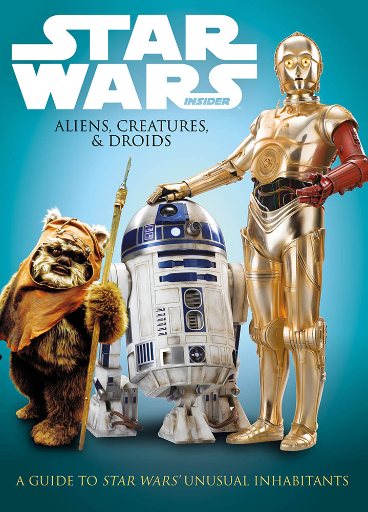 The cover of Star Wars: Aliens, Creatures & Droids.
