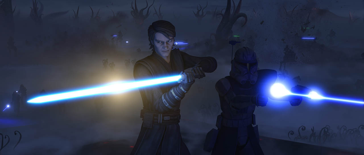 """A scene from """"Darkness on Umbara."""""""