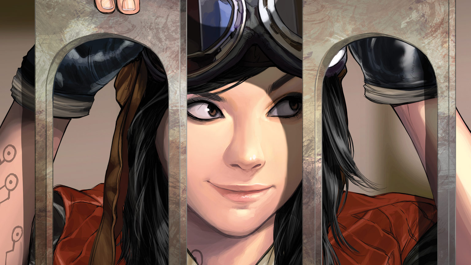 Doctor Aphra behind bars from the cover of Doctor Aphra #39