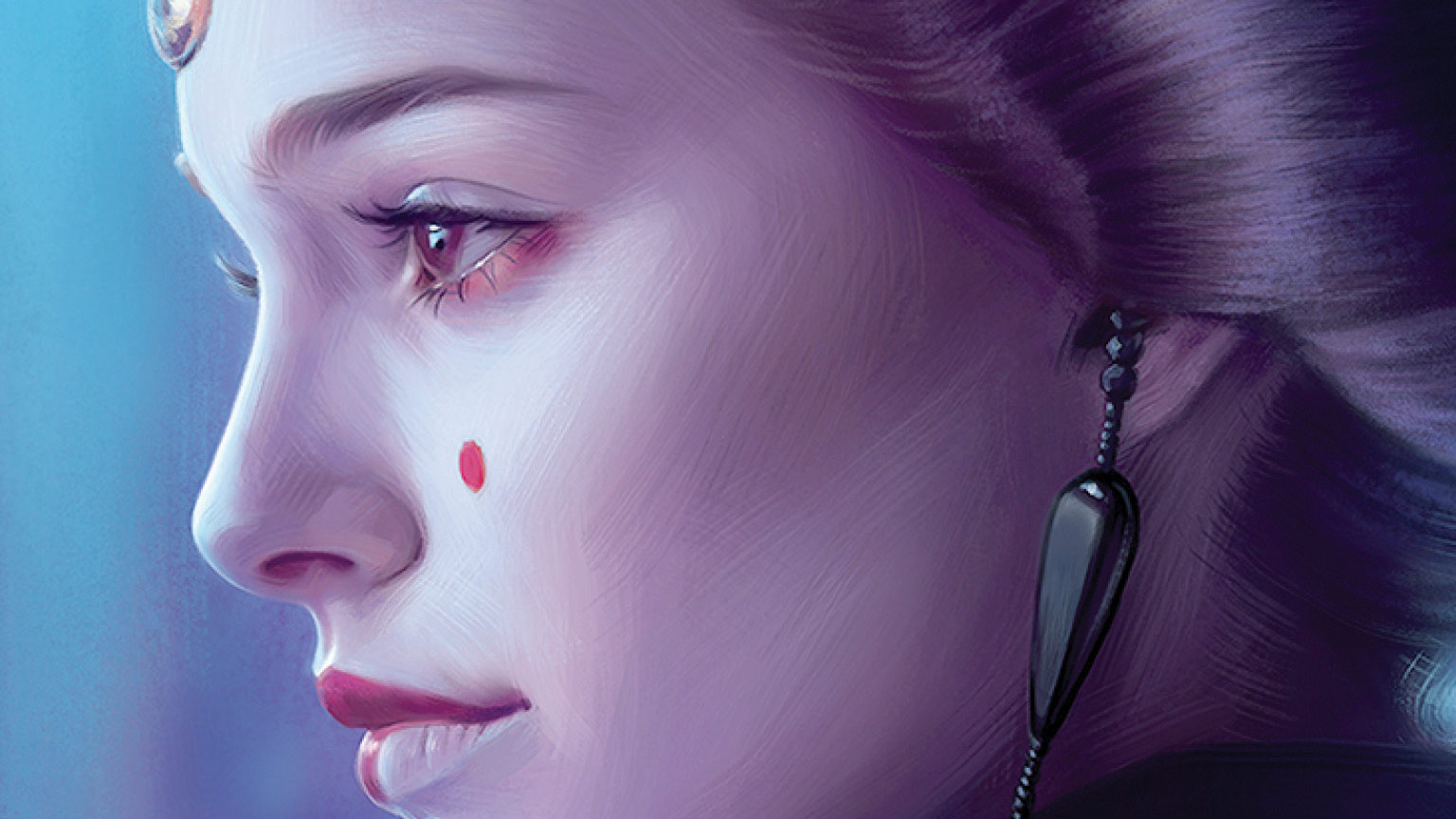 Queen Amidala from the cover of Queen's Peril
