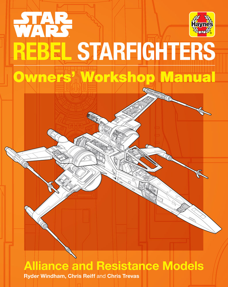 Rebel Starfighters book