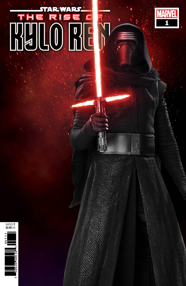 A variant cover for the Rise of Kylo Ren series