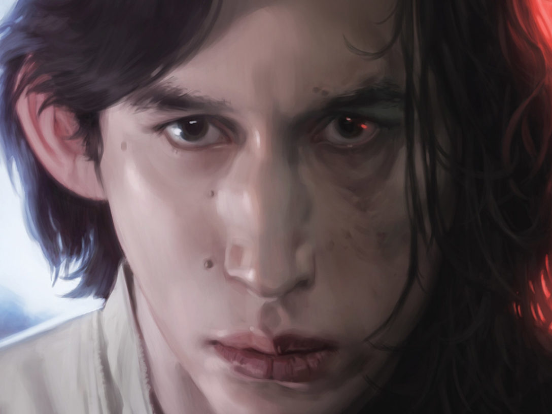 Ben Solo turns to Kylo Ren