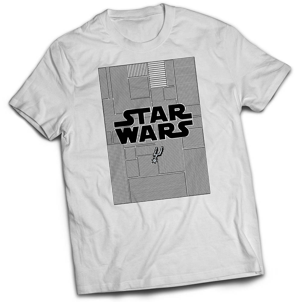 San Antonio Spurs - Star Wars shirt giveaway