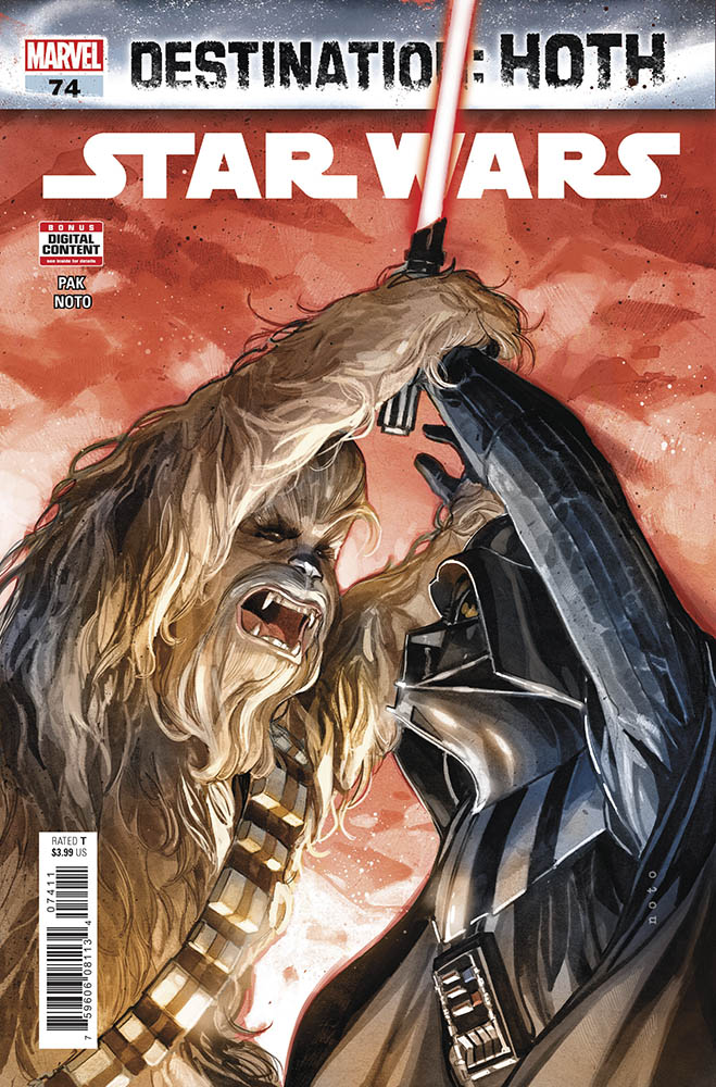 The cover of Star Wars issue #74.