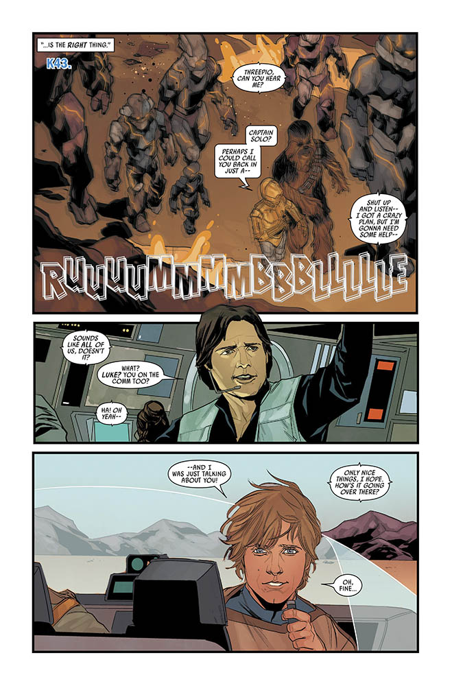 A page from Star Wars issue #74.