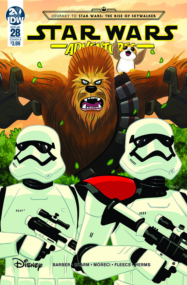 The cover of Star Wars Adventures #28.
